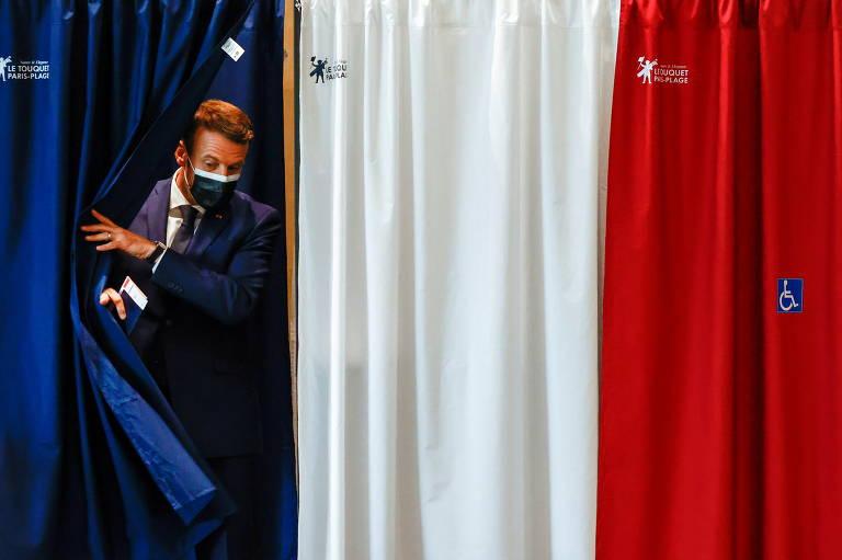 Com abstenção recorde, de 66%, eleição regional mostra recuo da ultradireita na França