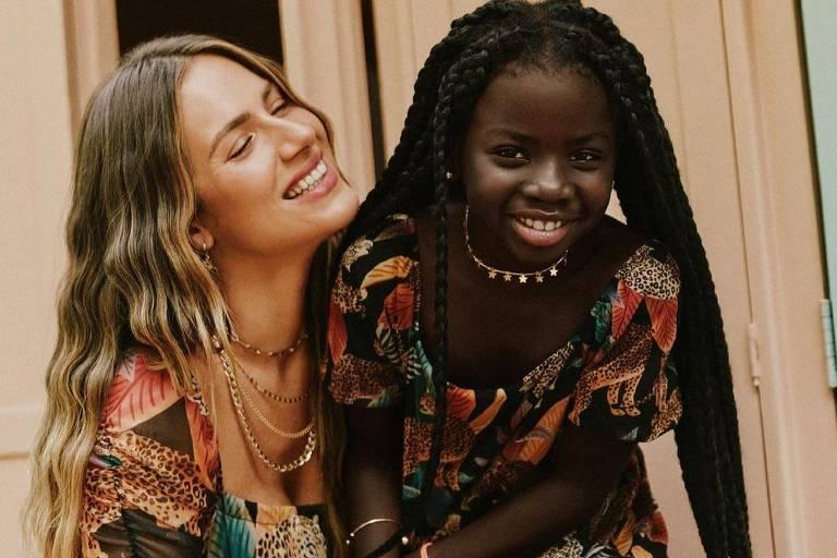 Giovanna Ewbank comemora os 8 anos de Titi