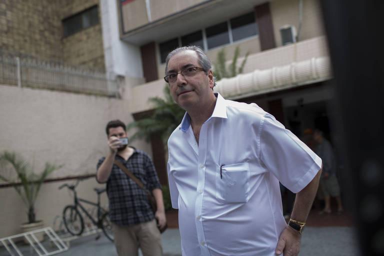 Eduardo Cunha e ACM Neto se reencontram em hotel, e ex-deputado critica Rodrigo Maia