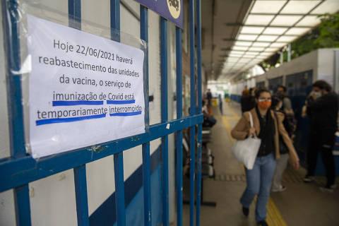 Prefeitura de São Paulo afirma que pede mais vacinas ao governo estadual desde sábado