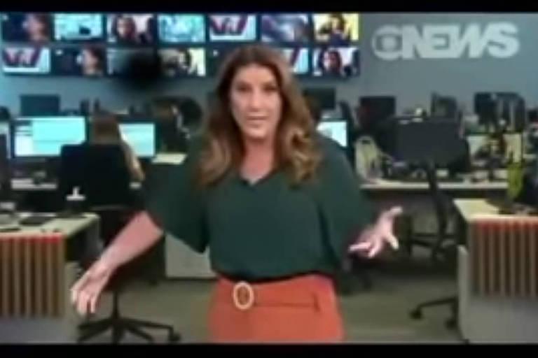 Imagens do canal GloboNews