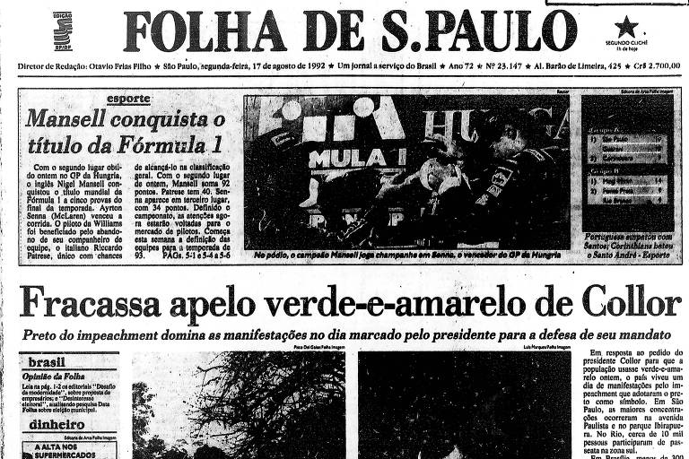 De luto contra Bolsonaro
