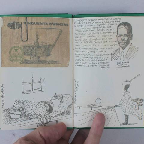 Imagem de um dos livros que compõem a coleção