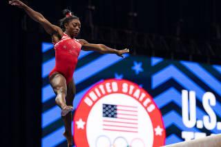 Gymnastics: U.S. Olympic Team Trials - Gymnastics