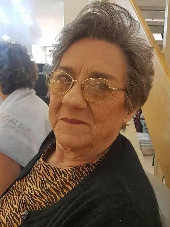 Italira Falceta morreu em 2 de março, aos 81 anos, após enfrentar complicações da covid-19