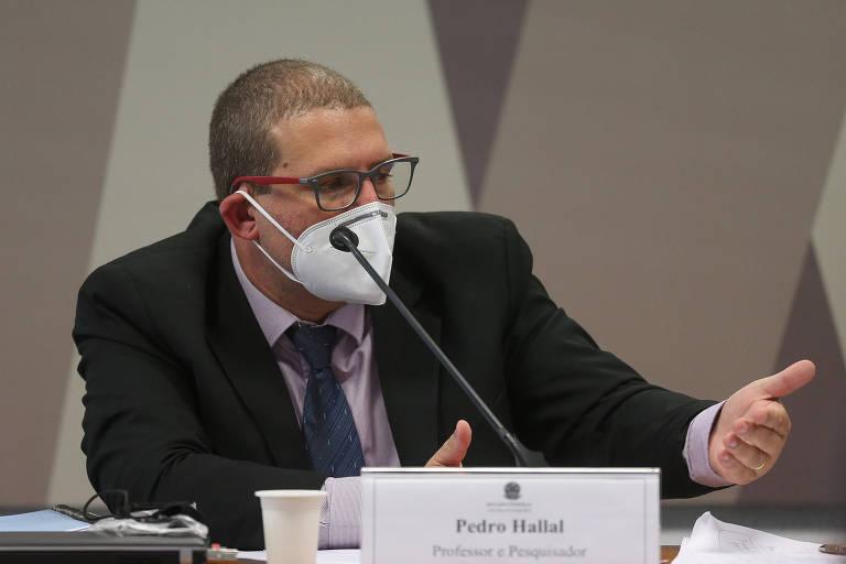 Pedro Hallal, em depoimento na CPI da Covid
