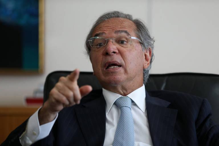 O ministro Paulo Guedes (Economia)