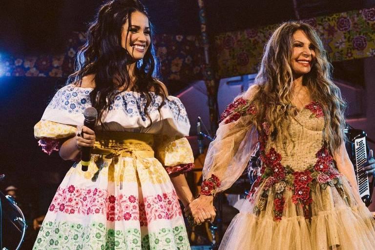 Juliette e Elba Ramalho cantam em live em homenagem ao São João de Campina Grande