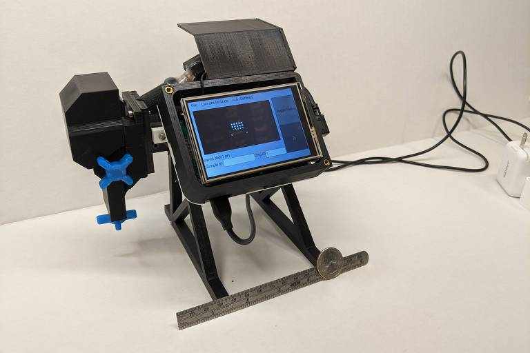 Dispositivo usado para detectar infecção pelo coronavírus Sars-CoV-2 desenvolvido por cientistas da Universidade Duke (EUA)