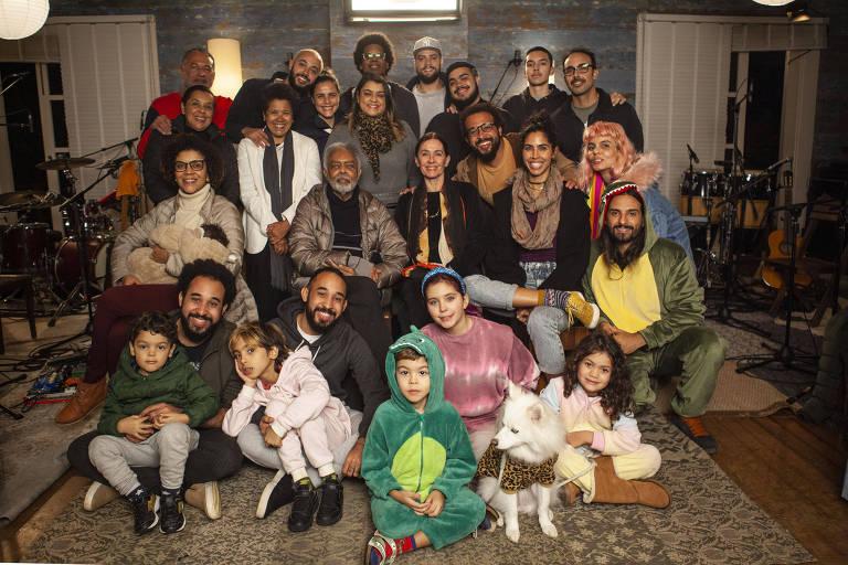 Gilberto Gil e família vão ganhar série documental na Amazon