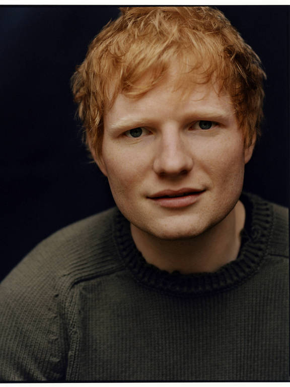 Imagens do cantor Ed Sheeran