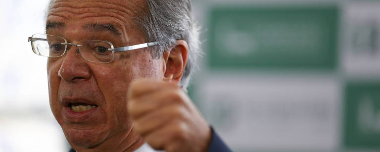 O ministro Paulo Guedes