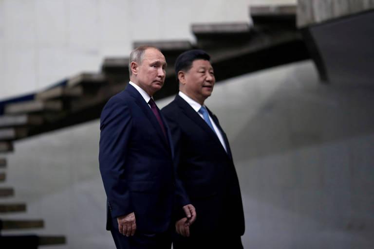 Nacionalismos de Xi e de Putin
