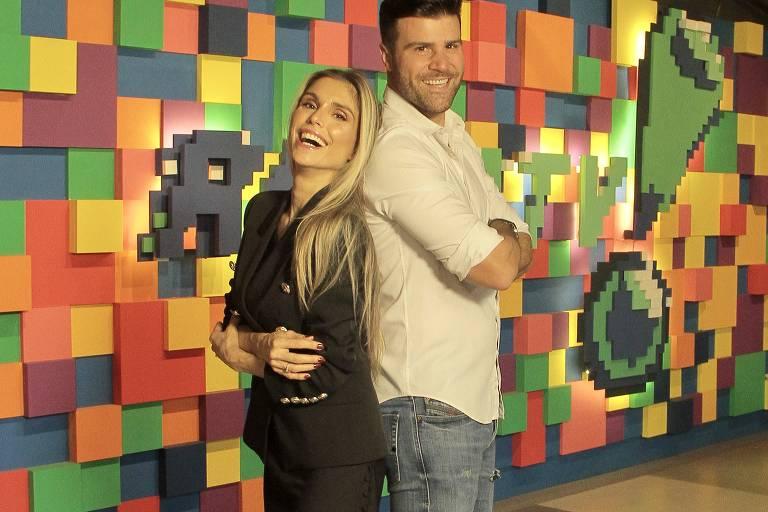O casal de influenciadores digitais Flávia Viana e Marcelo Zangrandi