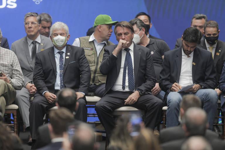 Pela segunda vez, governo Doria multa Bolsonaro por não usar máscara em SP