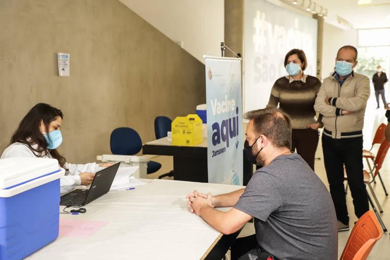 São Caetano é a primeira cidade paulista a usar vacina da Janssen