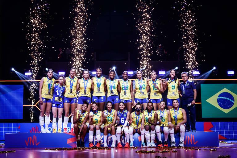 Campanha da seleção brasileira feminina na Liga das Nações de 2021
