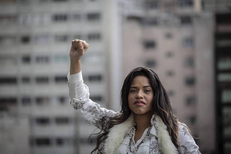 Patrícia Borges, 31, sete meses depois de ser agredida na avenida Paulista