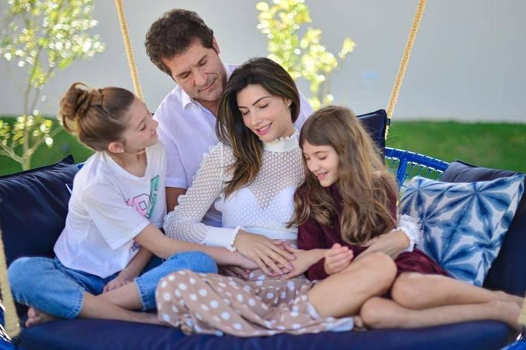 Cantor Daniel e família