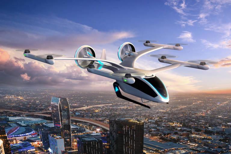 'Carro voador' traça futuro da mobilidade aérea