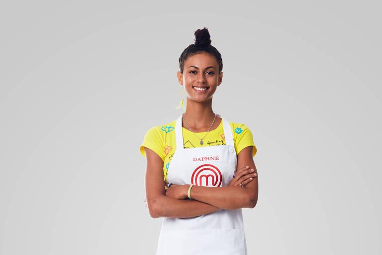 Daphne, ex-participante do MasterChef Júnior, está de volta ao MasterChef Brasil