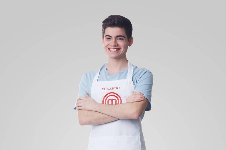 Eduardo é ex-participante do MasterChef Júnior
