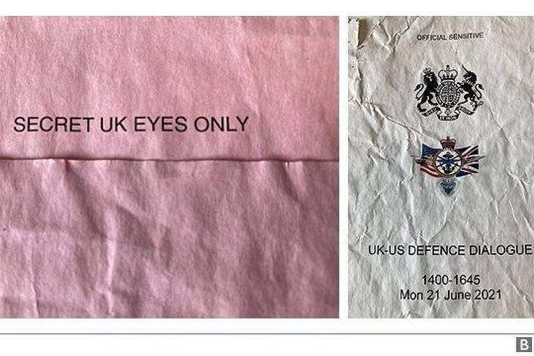 Documento sigiloso com detalhes de missões militares do Reino Unido é achado em ponto de ônibus
