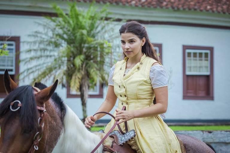 Em 'Nos Tempos do Imperador', Gabriela Medvedovski será Pilar