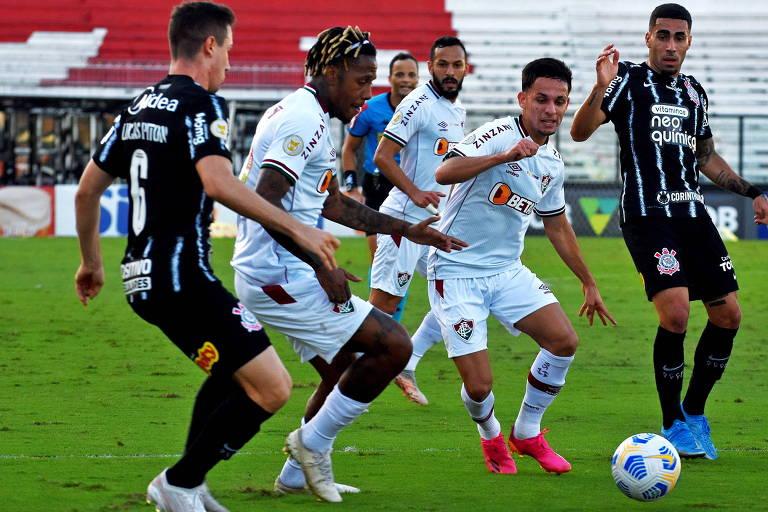 Fluminense apela à lei do ex para empatar com o Corinthians