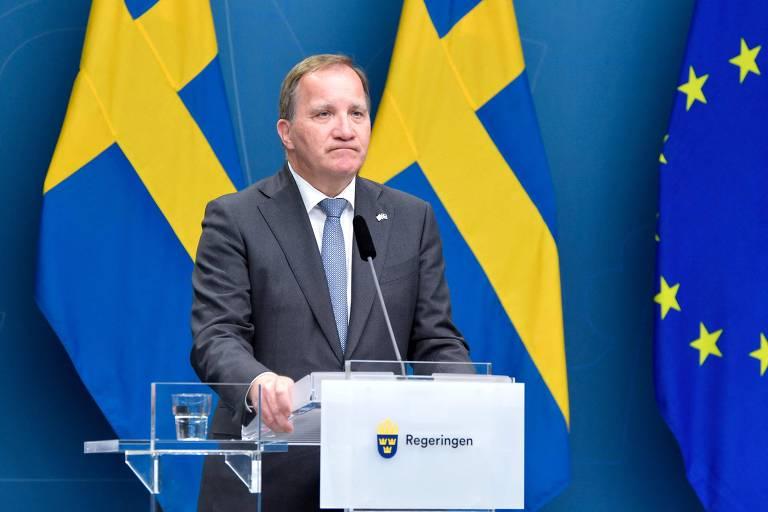 Premiê da Suécia renuncia após perder voto de confiança no Parlamento