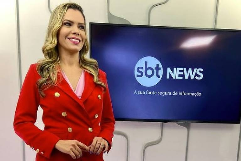 Repórter do SBT leva mordida de pitbull durante apuração do caso Lázaro