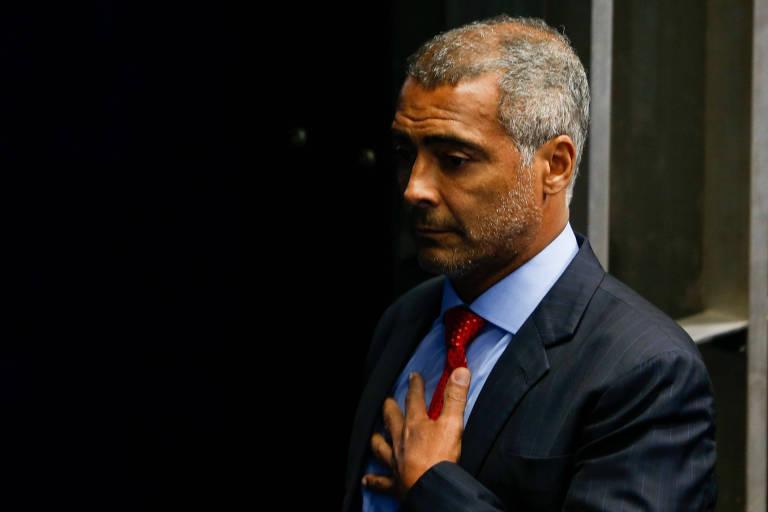 Romário diz que Del Nero está tentando voltar à CBF e que cartola tem que ser preso