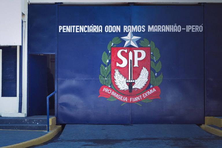 Fachada da Penitenciária de Iperó, no interior paulista, onde José Aparecido está preso