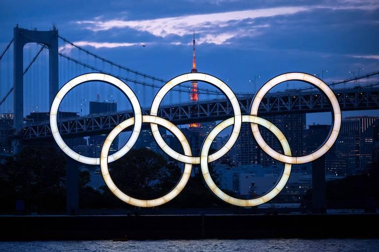 Olimpíada de Tóquio precisou ser adiada de 2020 para 2021 por conta da pandemia