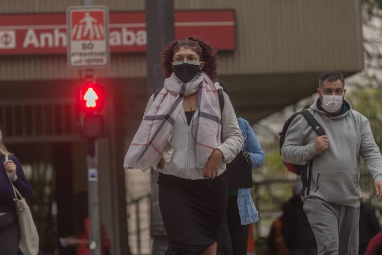 Cidade de São Paulo tem recorde de frio e temperatura deverá cair mais