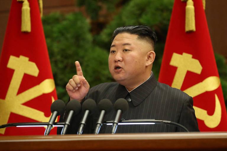 Kim Jong-un divulga 'erro grave' em luta da Coreia do Norte contra Covid-19