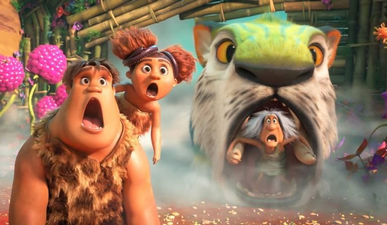 Filme 'Os Croods 2 - Uma Nova Era' estreia nos cinemas