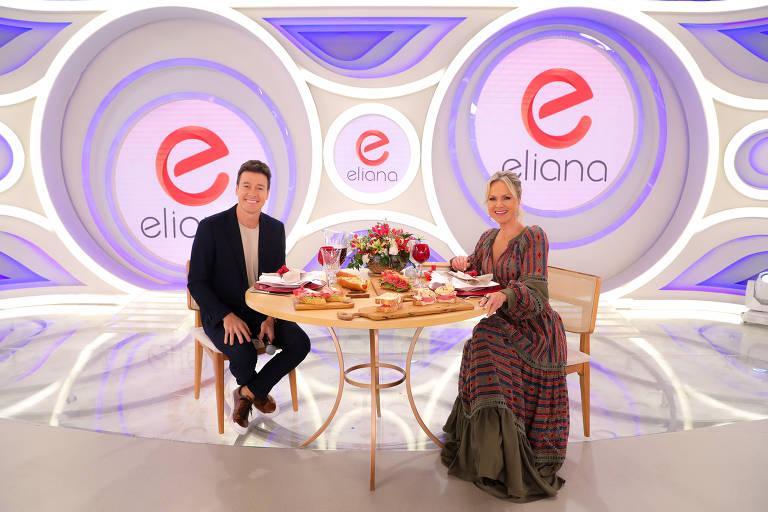 Faro grava participação no Programa da Eliana em ação publicitária