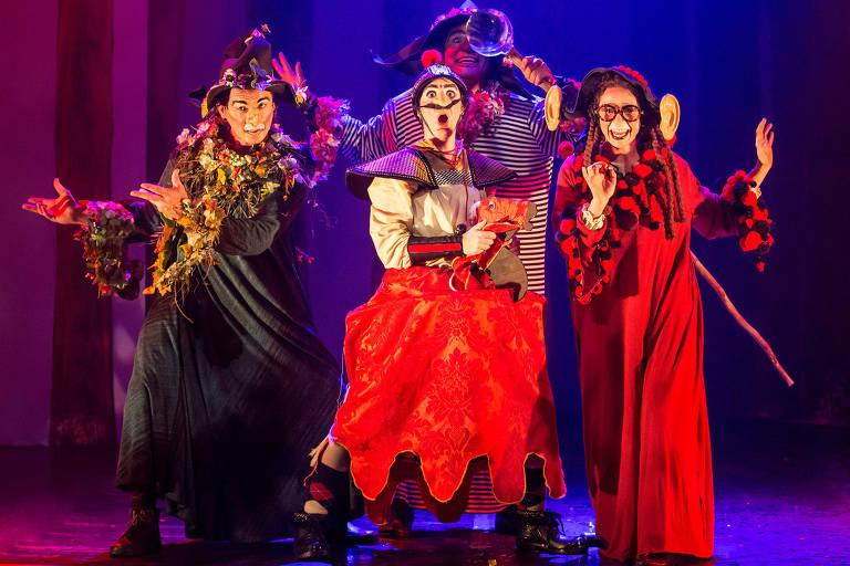 Veja imagens de peças do 34º Festival de Férias Online do Teatro Folha