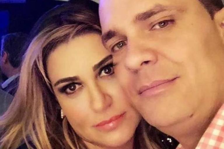 A empresária Anne Cipriano Frigo e o namorado Vitor Lúcio Jacinto, morto em SP