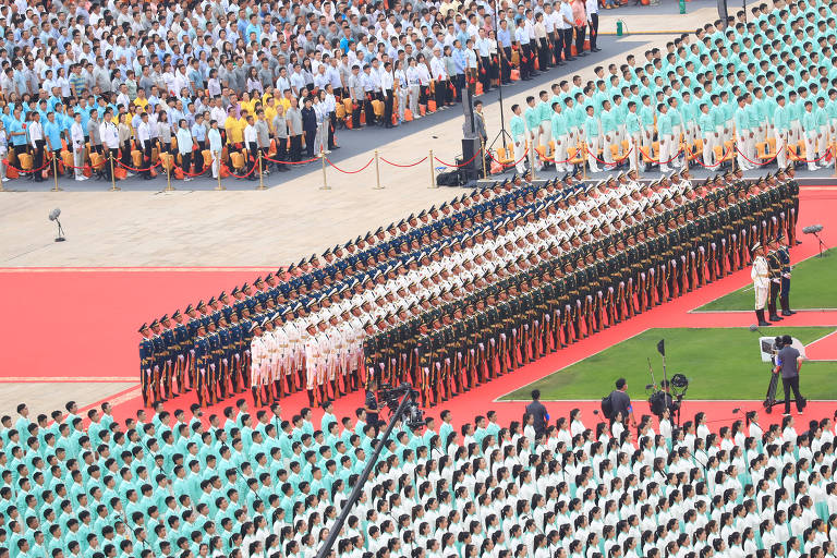 Cerimônia em Pequim marca 100 anos do Partido Comunista Chinês