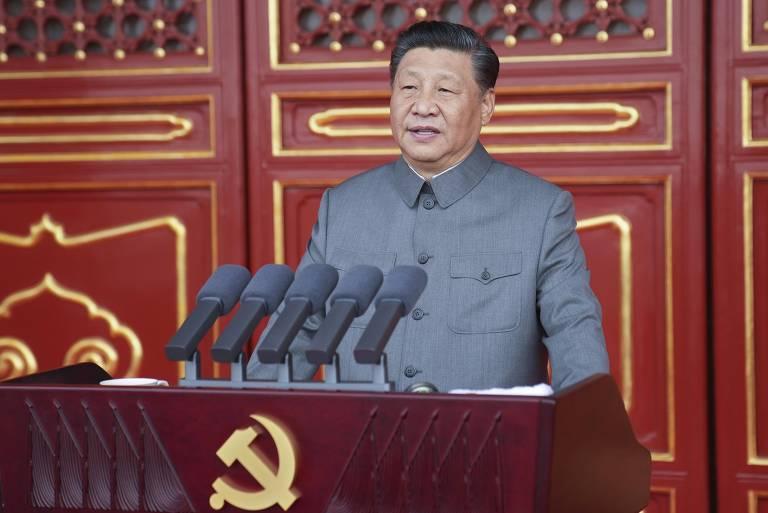 Xi executa feito de propaganda na celebração dos 100 anos do Partido Comunista Chinês