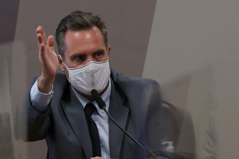 Luiz Paulo Dominguetti Pereira, em depoimento a senadores da CPI da Covid