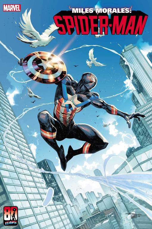 Os heróis da Marvel homenageiam o Capitão América em capas espetaculares do 80º aniversário