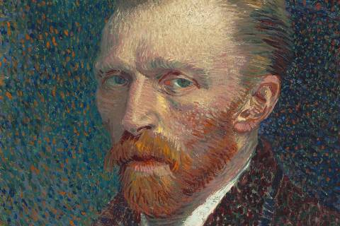 Self-portrait from 1887 painted by Vincent van Gogh (1853-1890) obtained on June 30, 2021. Courtesy of The Courtauld/Handout via REUTERS THIS IMAGE HAS BEEN SUPPLIED BY A THIRD PARTY. NO NEW USES AFTER JULY 30, 2021. ORG XMIT: HFS-GOGH