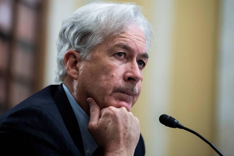 William Burns, diretor da CIA, durante audiência no Comitê de Inteligência do Senado americano, em Washington