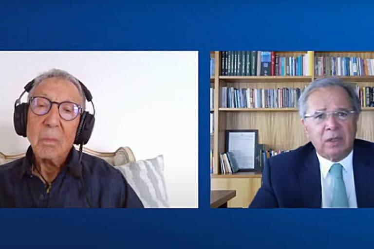Guedes diz que CPI é 'perde-perde enorme' e sugere aguardar 'fim da guerra' para atribuir culpas