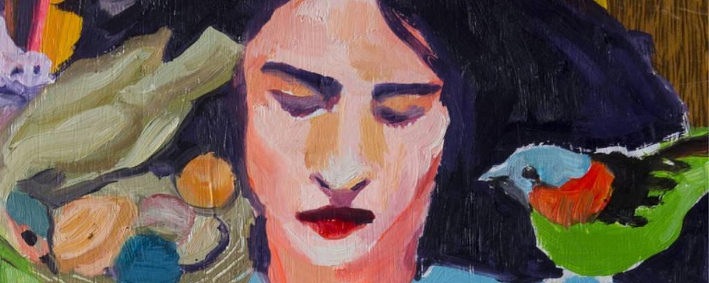 pintura de mulher