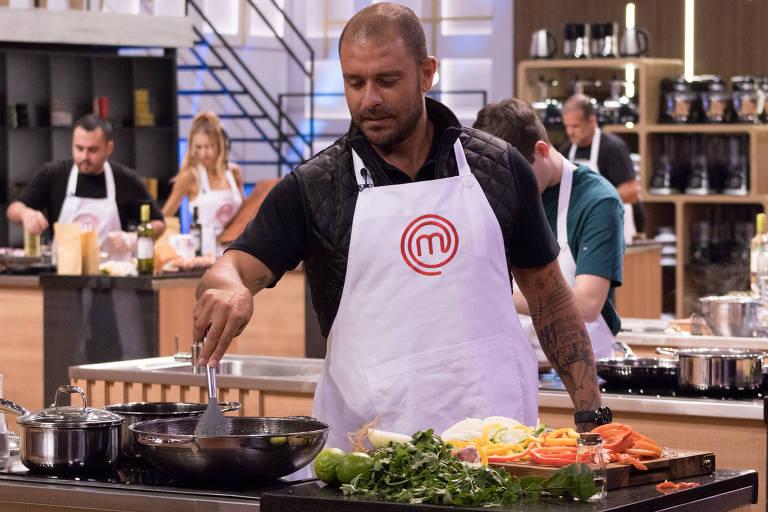 Diogo Nogueira vai cozinhar na estreia de nova temporada do MasterChef