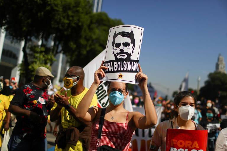 Atos contra Bolsonaro neste sábado testam vigor das ruas após sequência de três manifestações